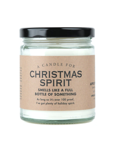 A Candle for Christmas Spirit - HOLIDAY