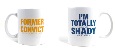 Imaginary Road Trips Fake-Cation Mug Set - Convict/Shady