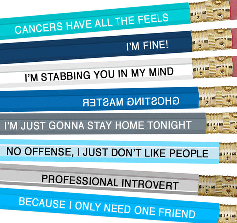 Astrology Pencils Cancer - NEW