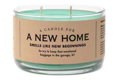 A Candle for A New Home