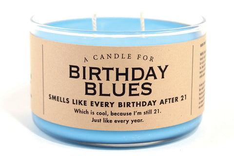 A Candle for Birthday Blues - NEW