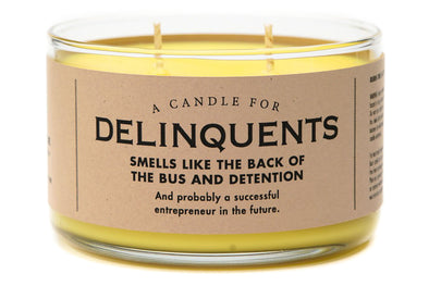 A Candle for Delinquents