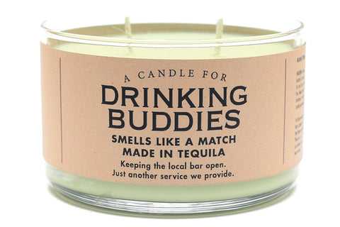 A Candle for Drinking Buddies - NEW