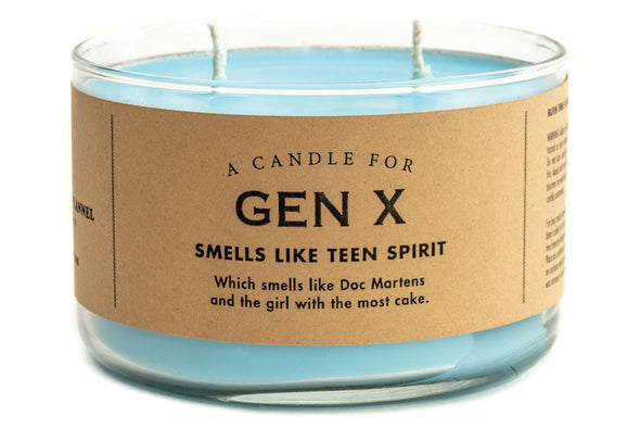 A Candle for Gen X