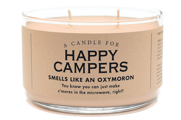 A Candle for Happy Campers