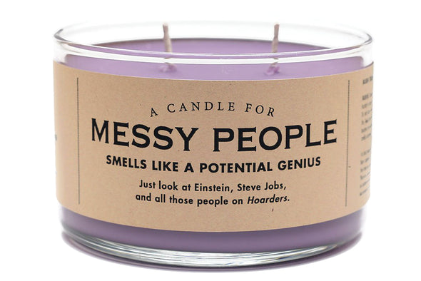 A Candle for Messy People