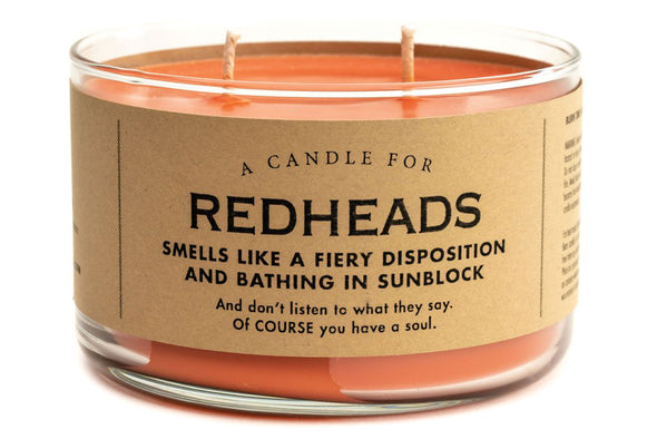 A Candle for Redheads
