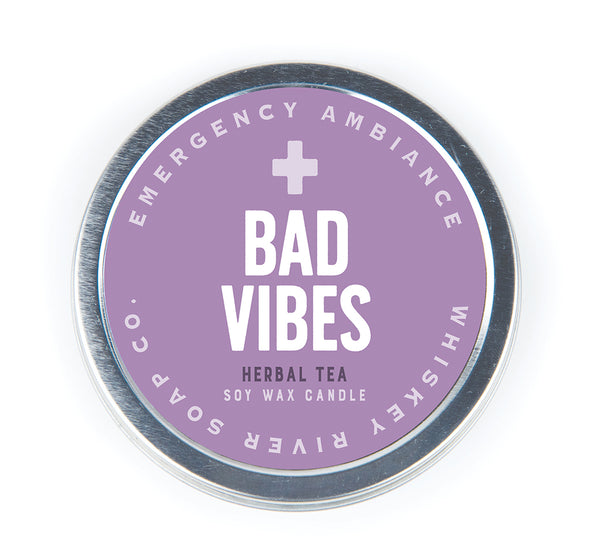Bad Vibes Emergency Ambiance Travel Tin - NEW!