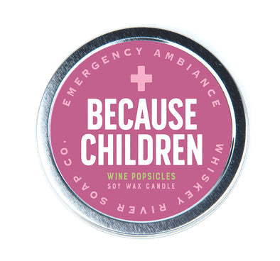 Because Children Emergency Ambiance Travel Tin - NEW!