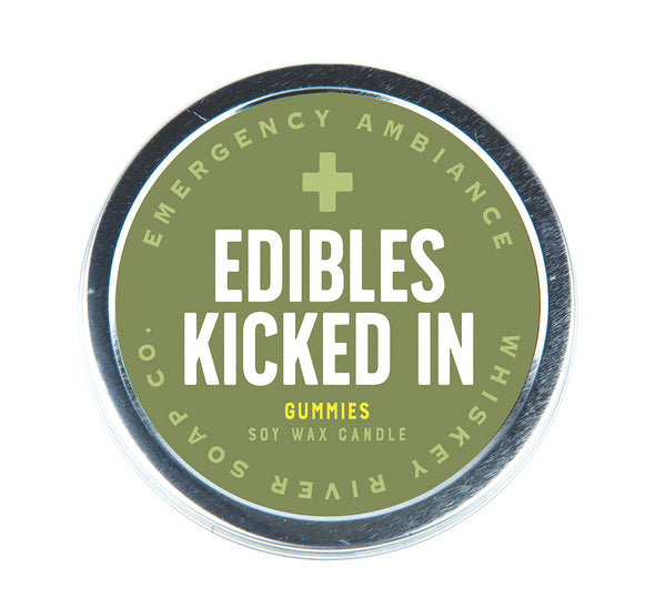Edibles Kicked In Emergency Ambiance Travel Tin - NEW!
