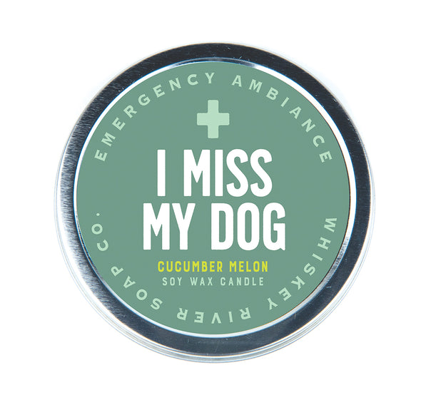 I Miss My Dog Emergency Ambiance Travel Tin - NEW!