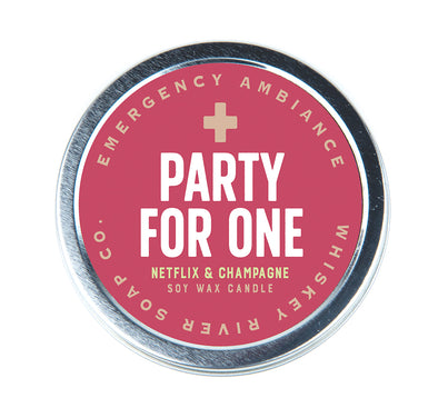 Party For One Emergency Ambiance Travel Tin - NEW!