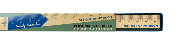 Personal Space Ruler for Family - NEW!