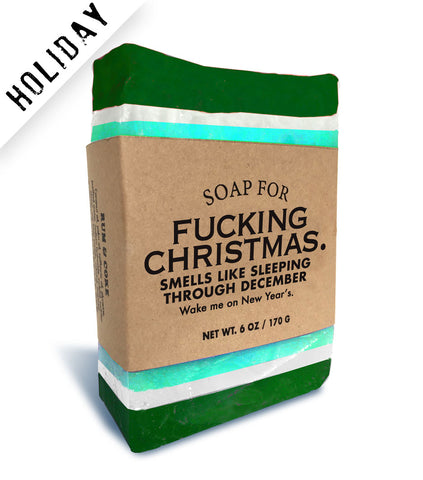 Soap for Fucking Christmas - HOLIDAY