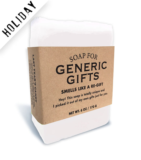 Soap for Generic Gifts - HOLIDAY