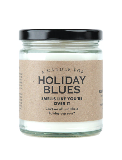 A Candle for Holiday Blues - HOLIDAY