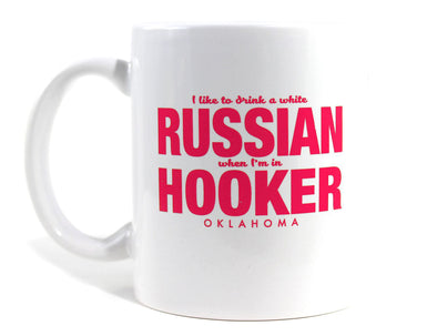 Imaginary Road Trips Fake-Cation Mug - Russian Hooker