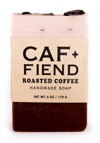Caf+Fiend Soap
