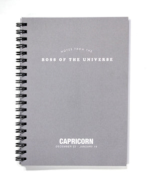 Astrology Journal Capricorn