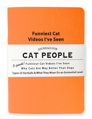 Journals for Cat People - NEW