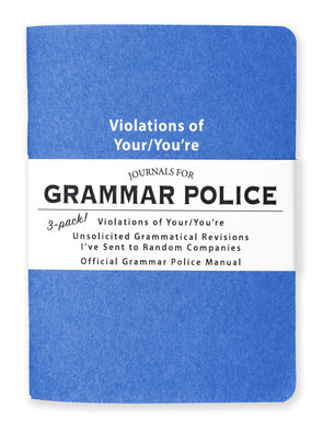 Journals for Grammar Police