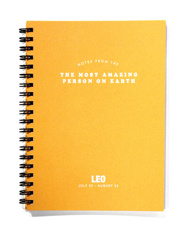 Astrology Journal Leo - NEW