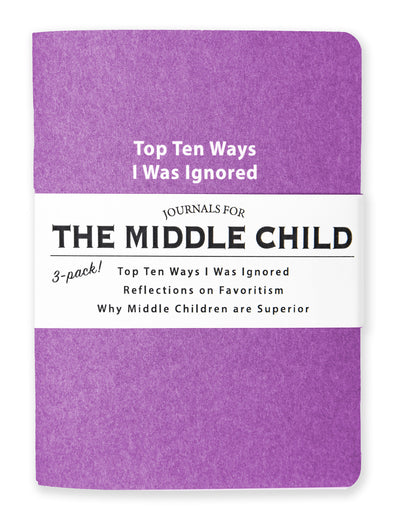 Journals for The Middle Child