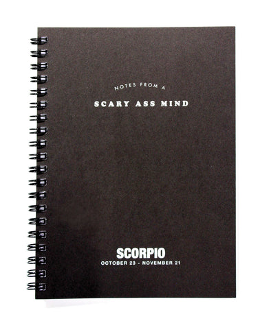 Astrology Journal Scorpio