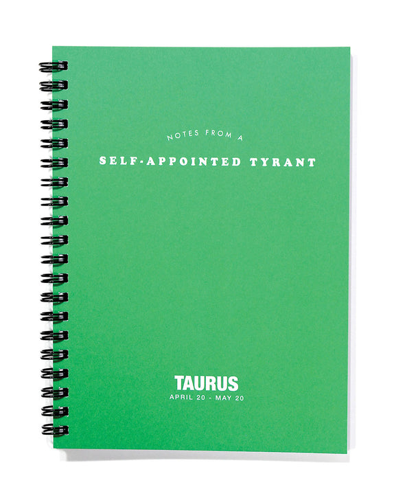 Astrology Journal Taurus