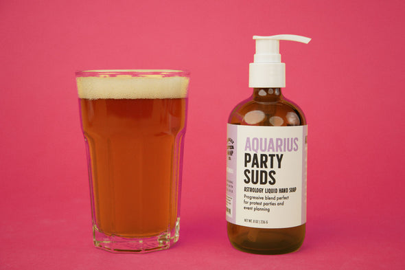 Aquarius Party Suds Liquid Hand Soap