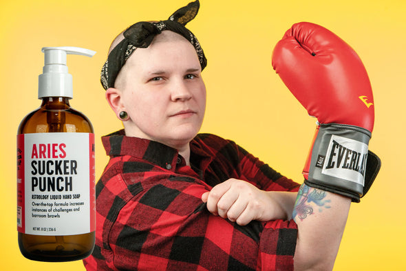 Aries Sucker Punch Liquid Hand Soap