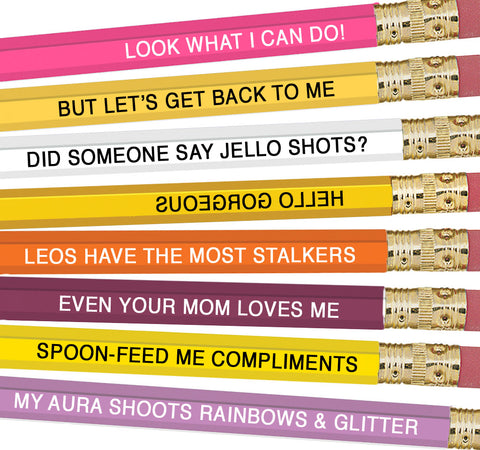 Astrology Pencils Leo - NEW