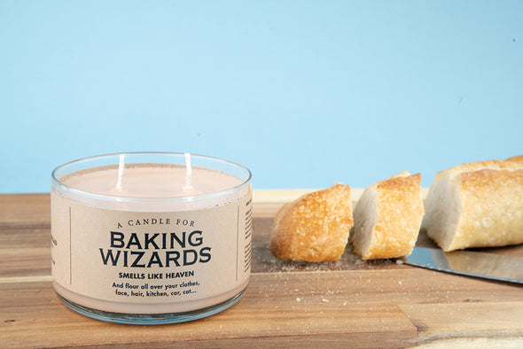 A Candle for Baking Wizards - NEW!