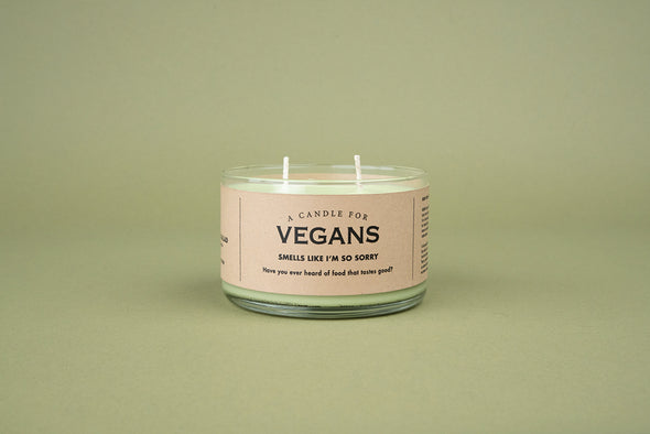 A Candle for Vegans - NEW!