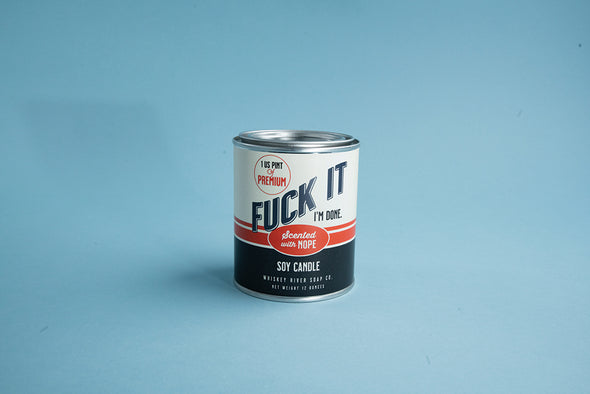 Fuck It Vintage Paint Can•dle - NEW!