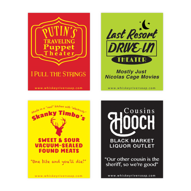 Old School Matchbooks Variety Pack: Hooch