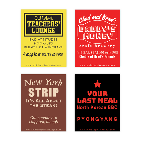 Old School Matchbooks Variety Pack: Last Meal