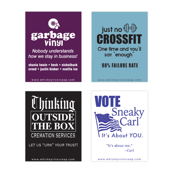 Old School Matchbooks Variety Pack: Crossfit