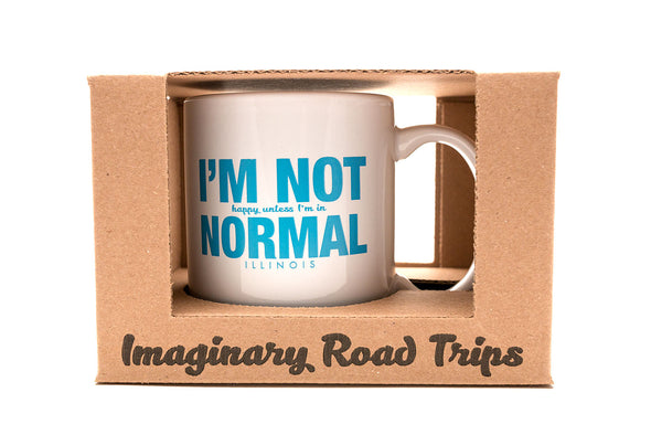 Imaginary Road Trips Fake-Cation Mug - I'm Not Normal