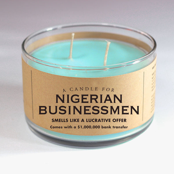 A Candle for Nigerian Businessmen