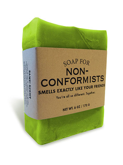Soap for Non-Conformists