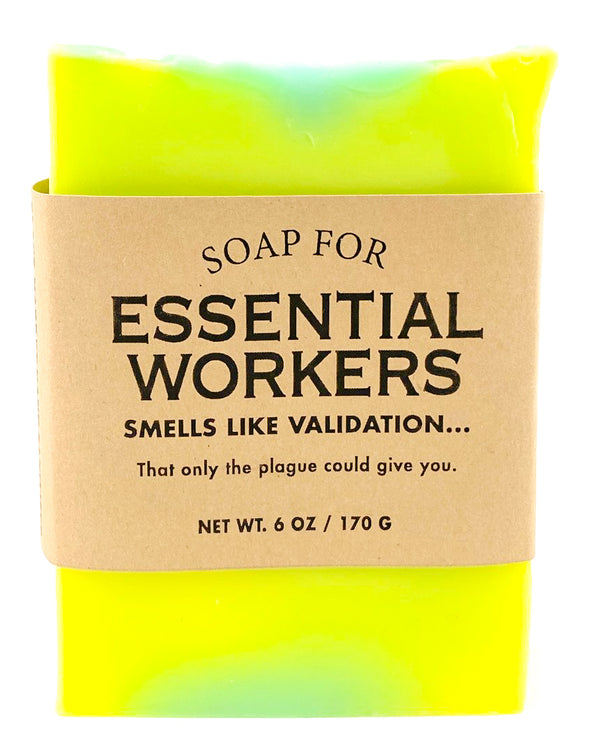 Limited Time! Soap for Essential Workers