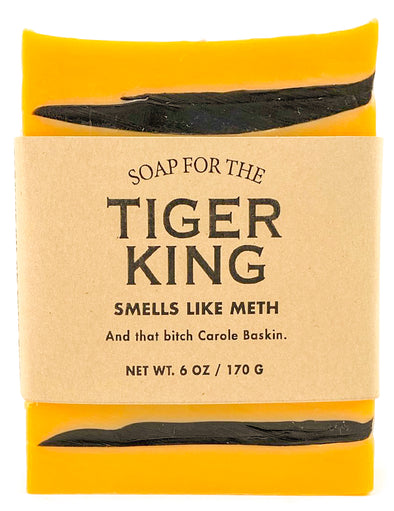 Limited Time! Soap for the Tiger King