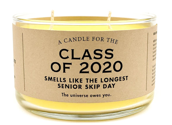 Limited Time! A Candle for the Class of 2020