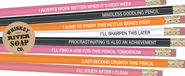 Pencils for Procrastinators