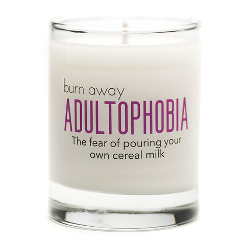 Burn Away Adultophobia Candle - NEW