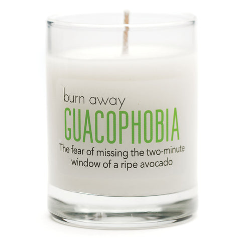 Burn Away Guacophobia Candle - NEW