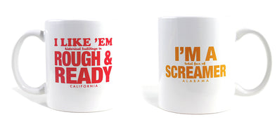Imaginary Road Trips Fake-Cation Mug Set - Rough/Screamer