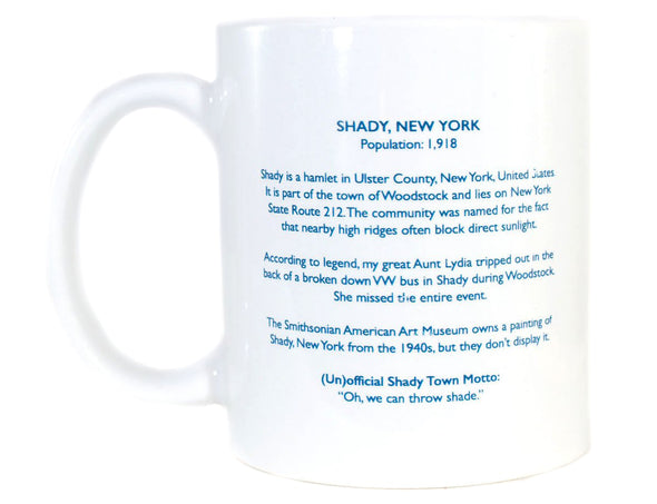 Imaginary Road Trips Fake-Cation Mug - I'm Totally Shady