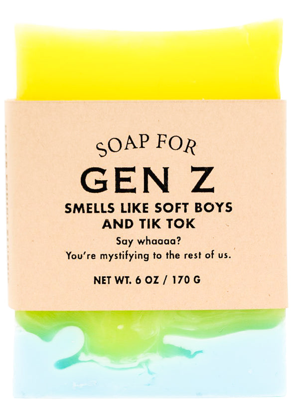 Soap for Gen Z - NEW!